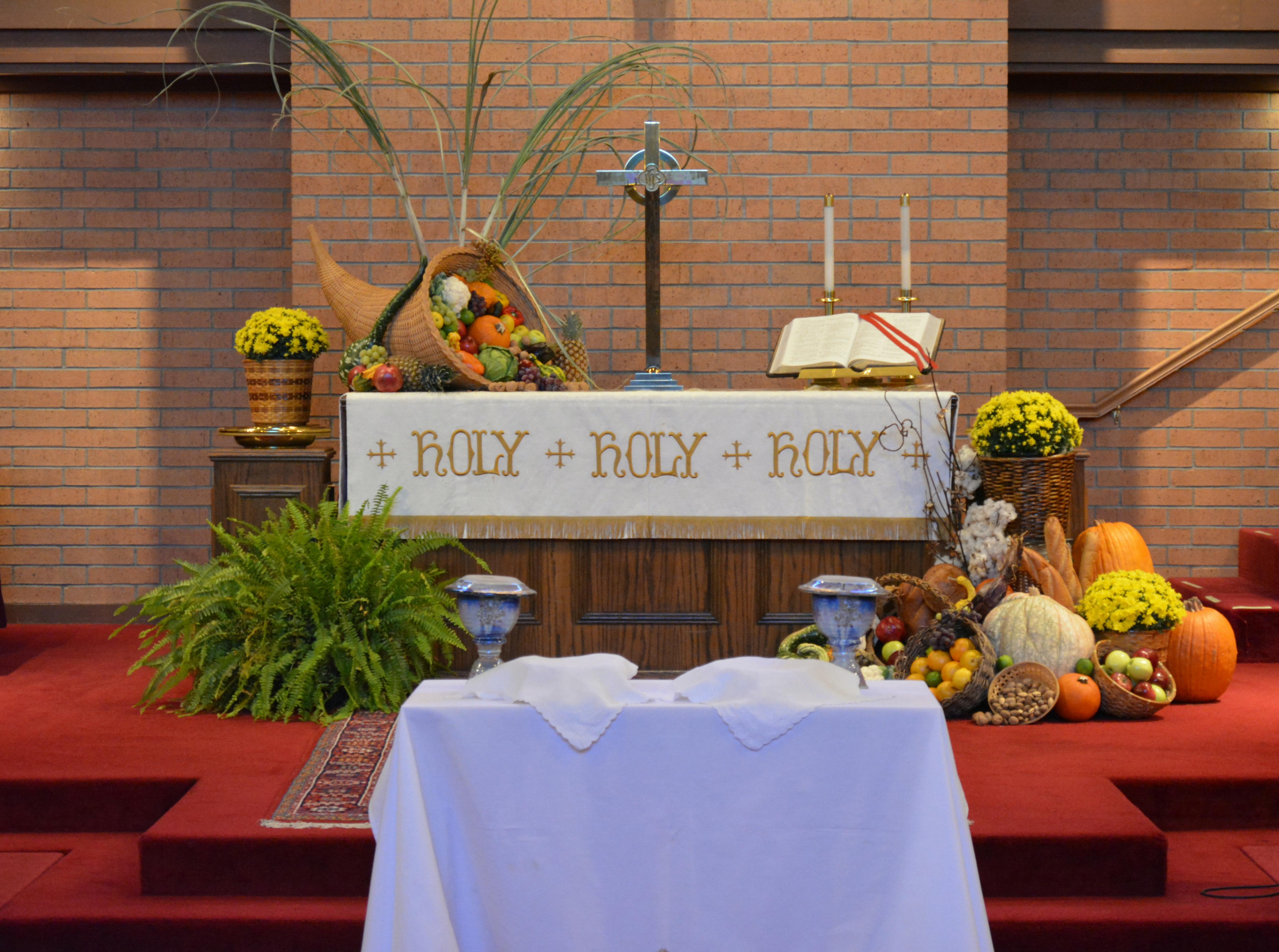 Thanksgiving Altar