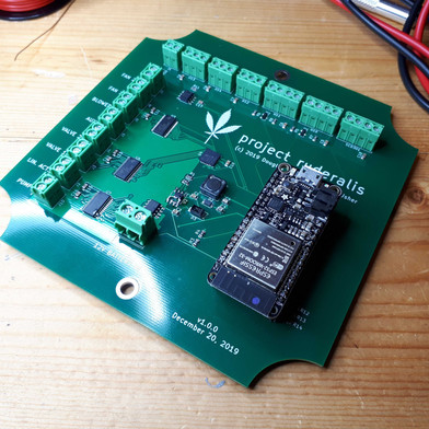 PCB for Project Ruderalis