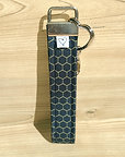 Save The Bees Black Keychain Wristlet