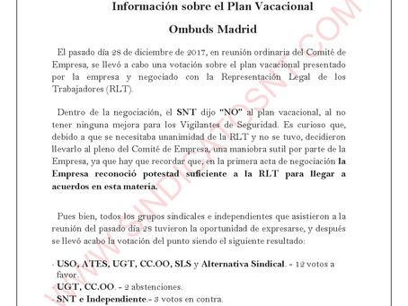 ¡¡Qué clavada!! Información sobre el Plan Vacacional OMBUDS MADRID