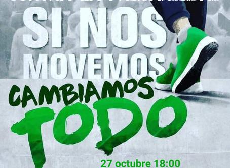 CAMINANDO HACIA EL  27 DE OCTUBRE
