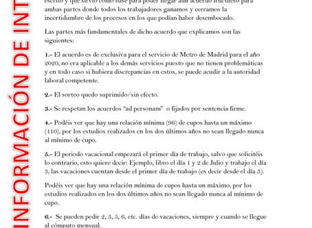 SIMA VACACIONES 2020 TRABLISA MADRID
