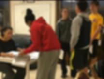 Checking students' SAT class homework