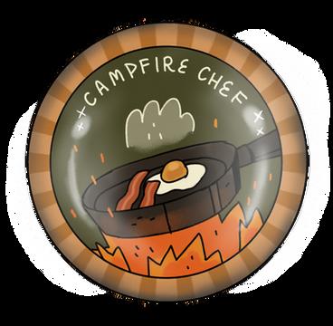 Campfire Chef Badge