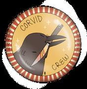 Corvid Crew Badge