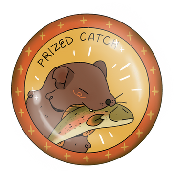 Prized Catch Badge