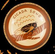 Cicada Song Badge