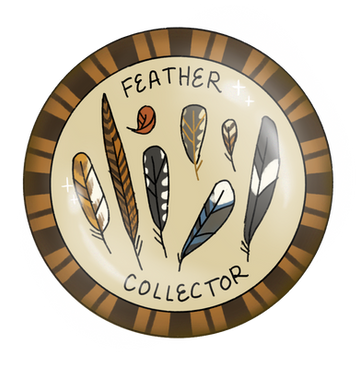 Feather Collector Badge