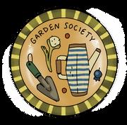 Garden Society Badge