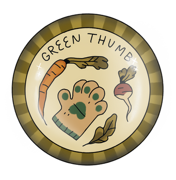 Green Thumb Badge