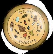 Autumn Advocate Badge