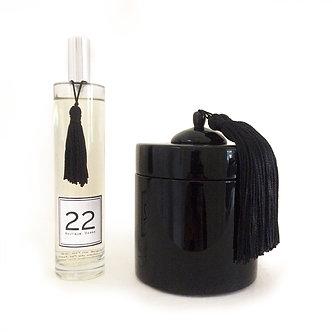 Boîte Laquée et Parfum 22
