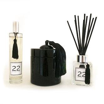 Boîte Laquée, Bouquet 22 et Parfum 22