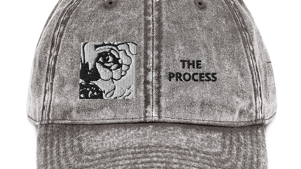 The Process embroidered Cotton Twill Cap