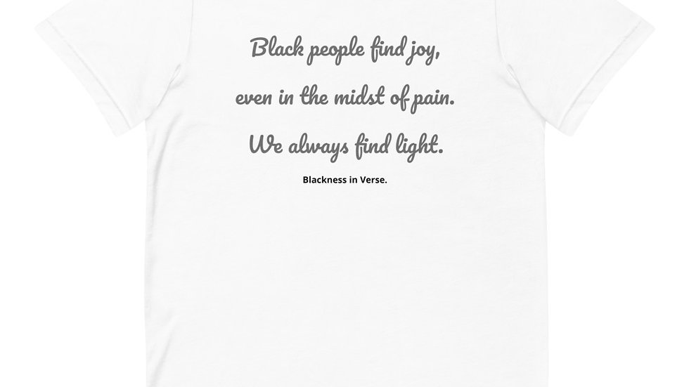 Black Joy t-shirt