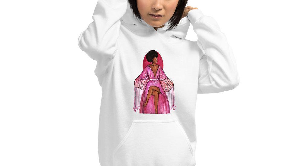 Pink Robe Hoodie