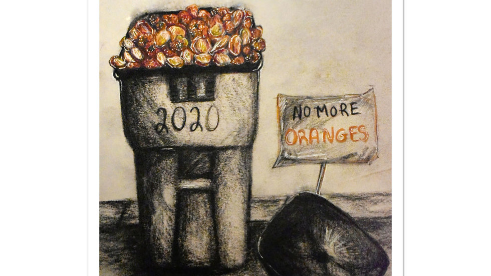 No More Oranges 2020 stickers