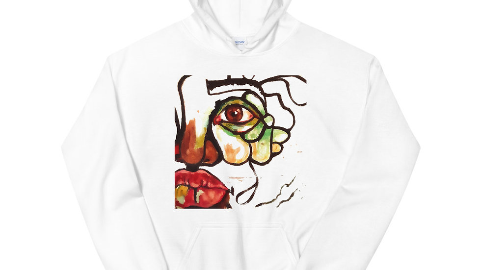 The Process  Unisex Hoodie with back graphic