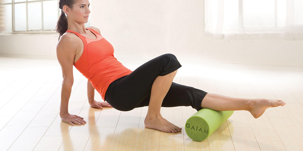 Foam Rolling and Gentle Yoga for Low Back, Hips, and Legs