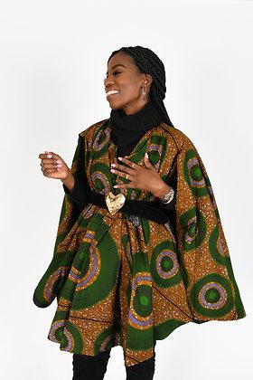 It's Handled Jacket- Kihesa Print