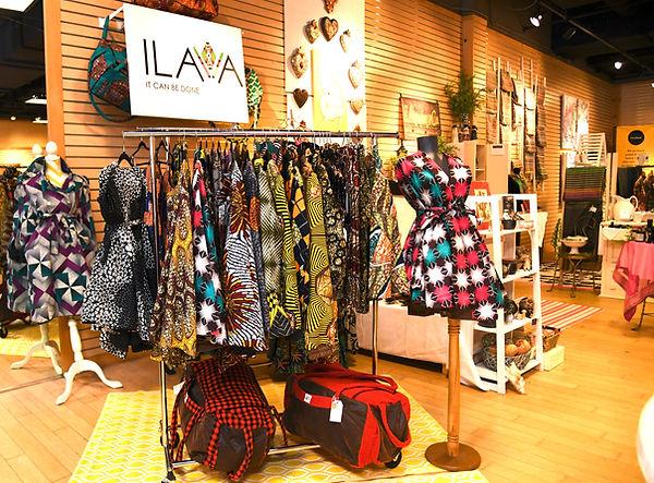 ILAVA Pop Up Clothing Shop
