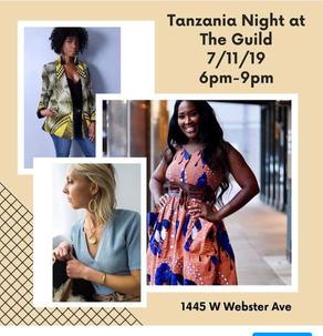 Tanzania Night The Guild ILAVA