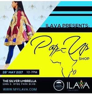 The Silver Umbrella Pop Up Shop