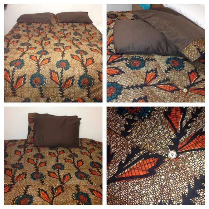 African Print Duvet Cover.. Order Yours Today!!