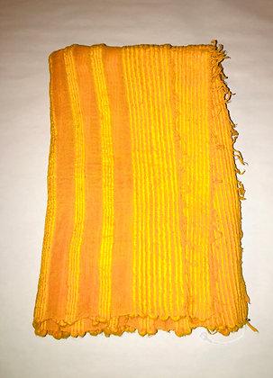 "Ethiopian Cotton Scarf ""spicy pumpkin"""