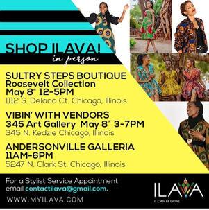 Shop ILAVA in person