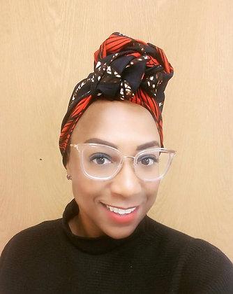 "African print headband ""my lady print"""
