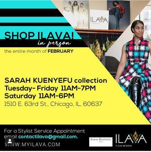 Shop ILAVA Sarah Kuenyefu