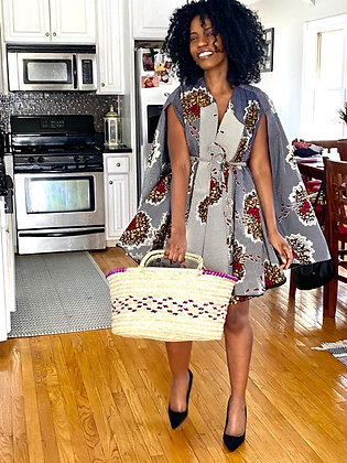 Woven Grocery Basket