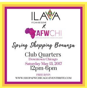 ILAVA Spring Shopping Club Quarters