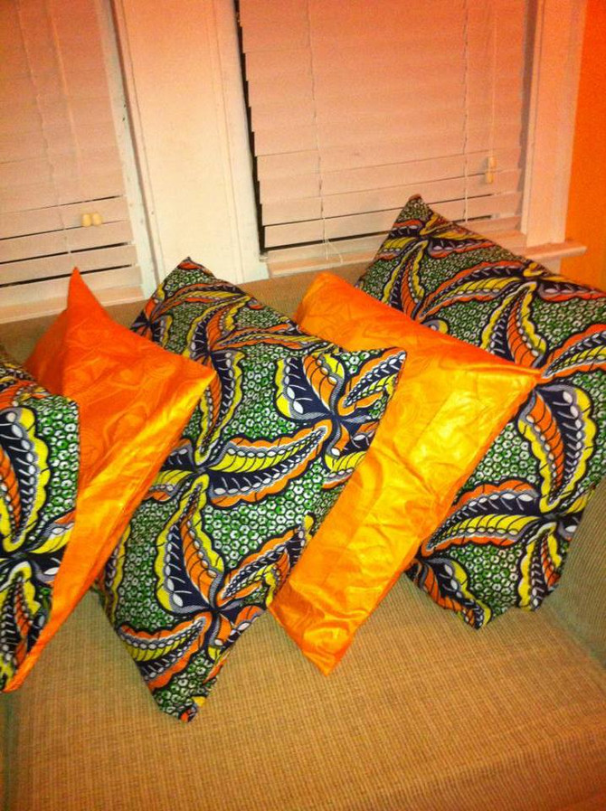COLOR SPLASH YOUR HOME WITH AFRICAN PRINTS THROW PILLOWS