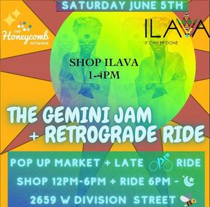 Gemini Jam and Retrograde Ride