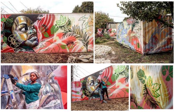 Bon Secours Urban Farm Mural