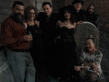 Edgar Allan Poe Funeral Re-enactment and Candle-light Vigil at Carroll Mansion