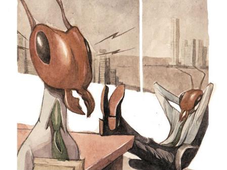 O ócio das formigas