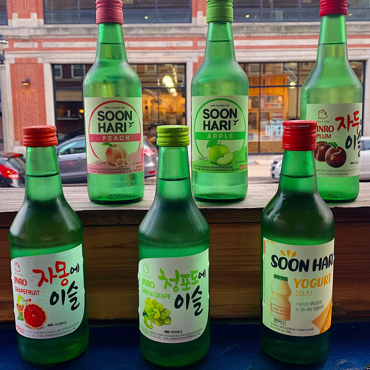 Flavored Soju