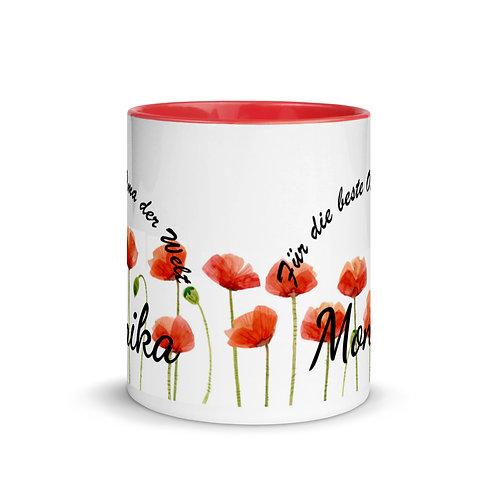 Tasse als Geschenk für die beste Oma (Name Personalisierbar)