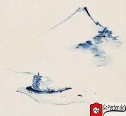 Japansiche Zeichnung gerahmt