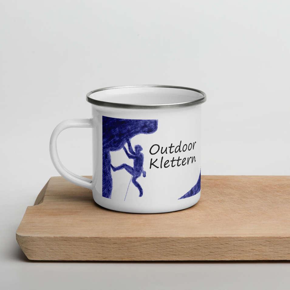 Tasse - Outdoor Klettern