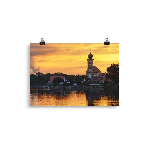 Sonnenaufgang Echinger See