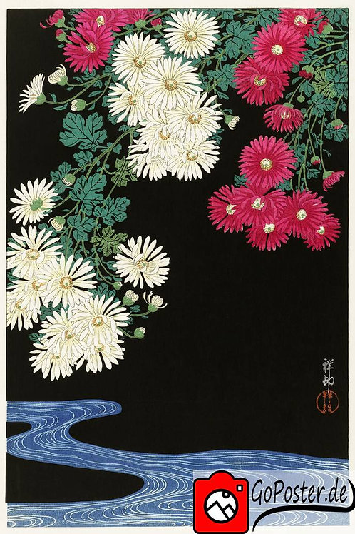 Japanese Painting of Flowers