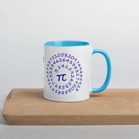 Lustige PI - Tasse