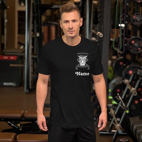 Harcore Griller T-Shirt Schwarzweiß