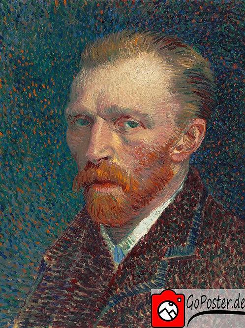 Vincent van Gogh - Selbstportrait (Leinwand)