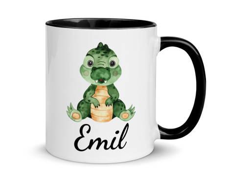 "Tasse zum Geburtstag ""Krokodil"""