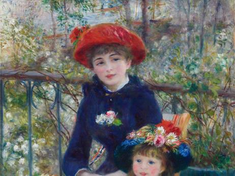 Pierre-Auguste Renoir - Zwei Schwestern (Leinwand)